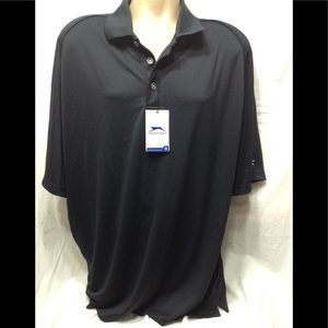 Men's NWT sz XXL SLAZENGER wicking breathable polo